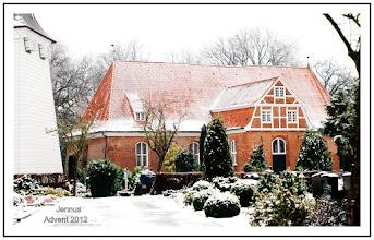 Photo: Dorfkirche Kirchwerder bei Hamburg