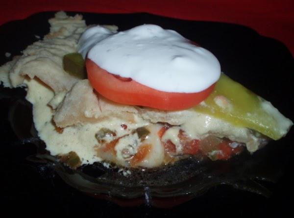 Add pie crust to top, wrap aluminum foil around the edges of pie crust,...