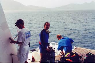 Photo: #024-Départ pour la plongée du hall nautique