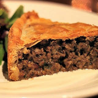 French Canadian Tourtiere.