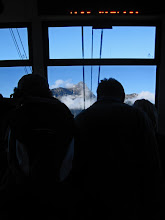 Photo: Riding the Gondola to the Top of the Zugspitze