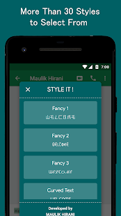 STYLE IT - Write Cool Fancy Text Anywhere Directly - náhled