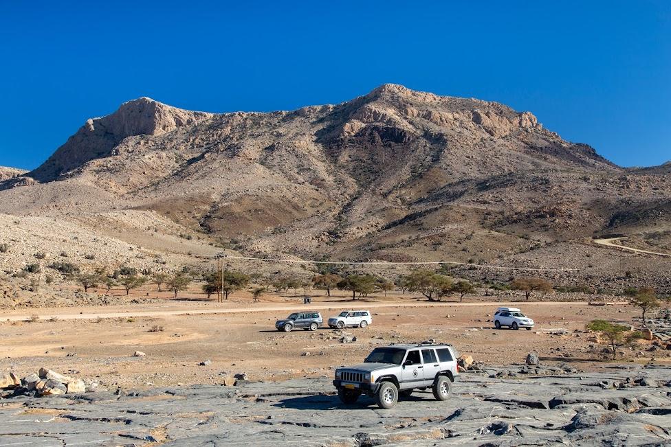 Oman, samochód terenowy