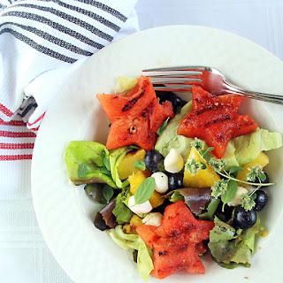 Grilled Fruit Salad.