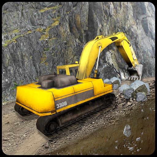 Up Hill Construction Crane Sim