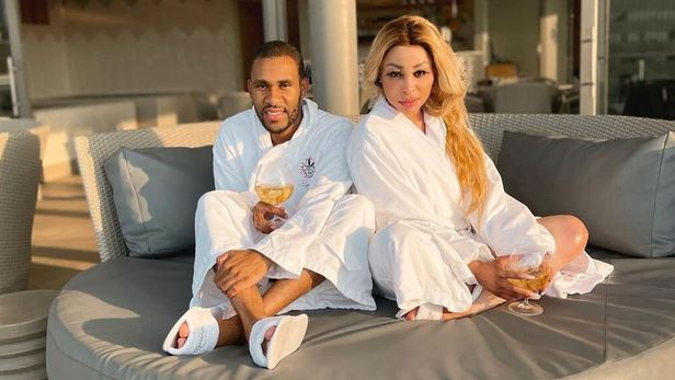 Media personality Khanyi Mbau was spoilt rotten by Kudzai Terrence Mushonga on Valentine's Day and vice versa.