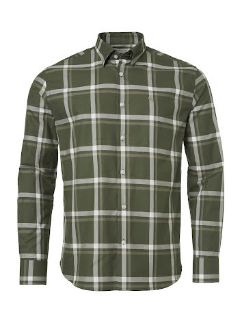 Chevalier Elcot Shirt Men Pine Green Checked