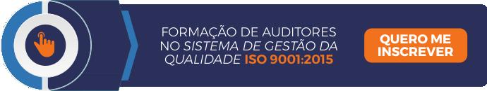 Formação de auditores no sistema de gestão da qualidade ISO 9001:2015