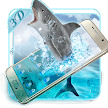 3D Roar Angry Shark Launcher APK
