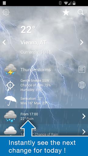 Weather Austria XL PRO screenshot 2