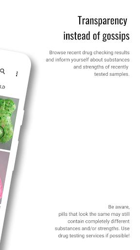KnowDrugs Drug Checking 2.1.1 screenshots 2