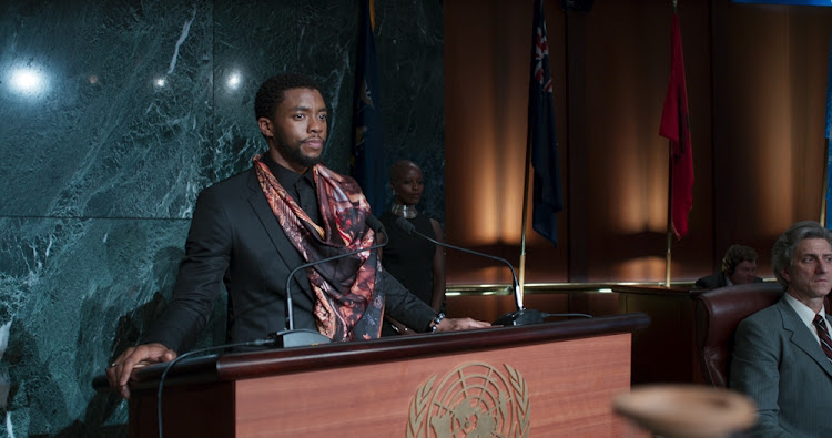 Black Panther's Chadwick Boseman gave a touching speech for the class of 2018.