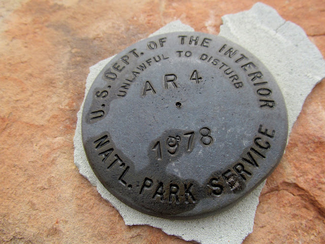 1978 NPS survey marker