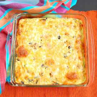 Southwestern Cauliflower Rice Casserole Recipe