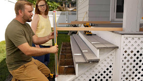 Two-Prong Outlet; Deck Stair Rail thumbnail