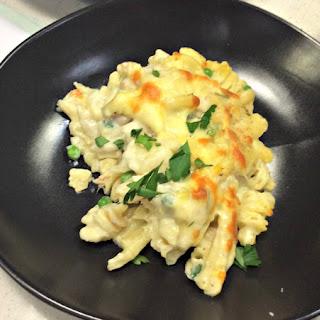 Tuna Macaroni Cheese.