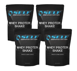 4 x Whey Protein Shake
