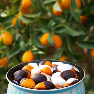 Chocolate Dipped Cumquat