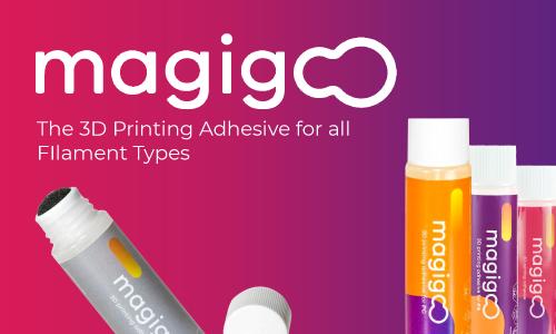 Magigoo 3D Printer Bed Adhesion Solutions