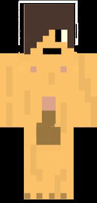 Naked Crazy Guy Minecraft Skin