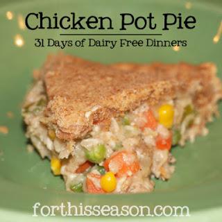 Chicken Pot Pie Filling (Dairy Free Recipe)