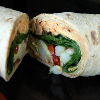 The Laughing Cow 7 Layer Mexican Wrap