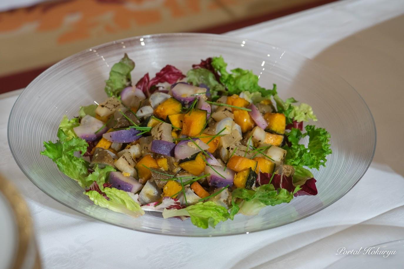 山本農産・秋野菜のサラダ