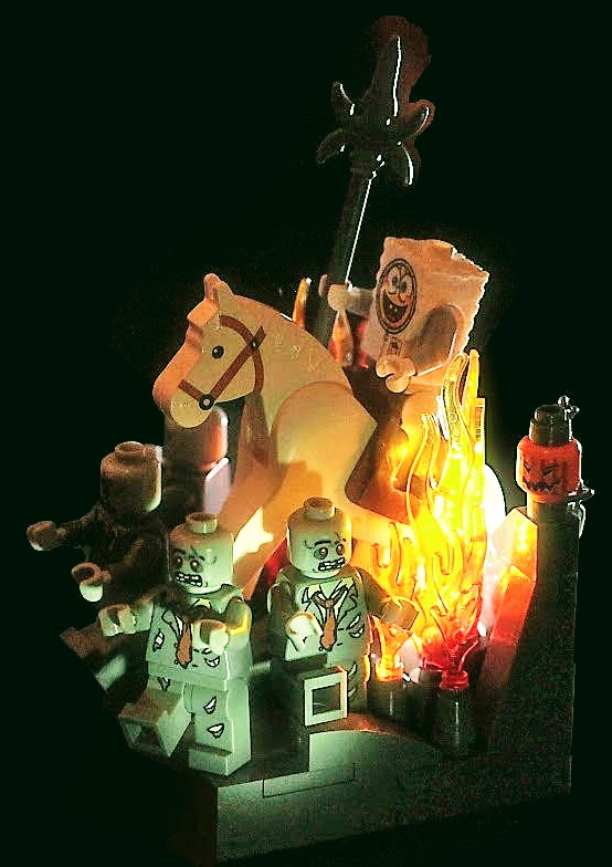 spooky LEGO by Pascal on Flickr The Fifth Rider