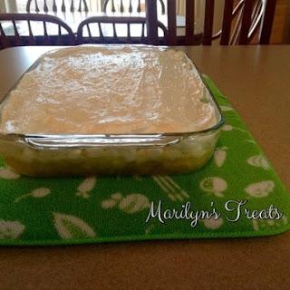 Aunt Sally's 7 Up Lemon Jello.