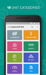 One Unit Converter & Currency v3.2 [Unlocked] APK [Latest] 3