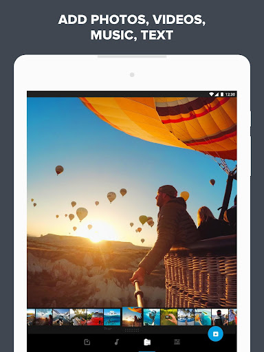 Quik – Free Video Editor for photos, clips, music game (apk) free download for Android/PC/Windows screenshot