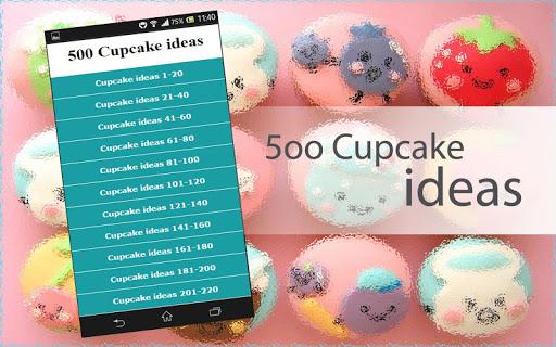 500 Cupcake ideas