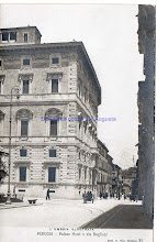 Photo: Perugia, Palace Hotel e via Baglioni