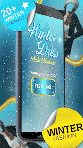 Winter Dress Photo Montage screenshot 10
