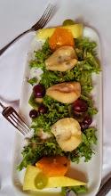 Photo: Vorspeise: Birne an Gorgonzola