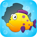 Toddler Puzzle: Fish & Bubbles🐠