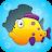 Toddler Puzzle: Fish & Bubbles🐠 Bubble Pop Icône