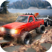 🚜Tow Trucks Offroad: Trucker Driving Simulator