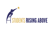 Logo for Students Rising Above.