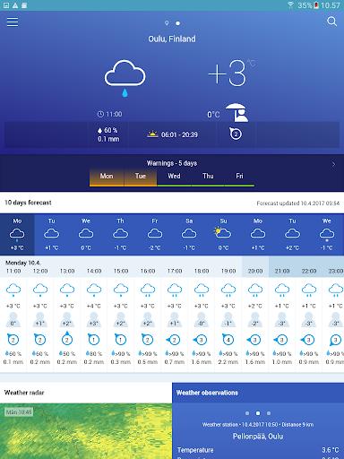 FMI Weather  screenshots 9