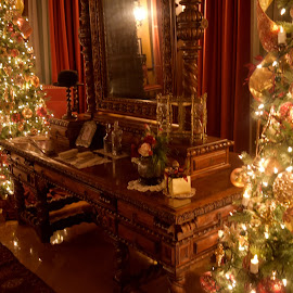 Victorian Christmas by Diana Fay - Public Holidays Christmas ( #humblyblessed, #wnc, #biltmore )