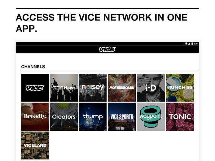 Screenshot 5 for VICE's Android app'