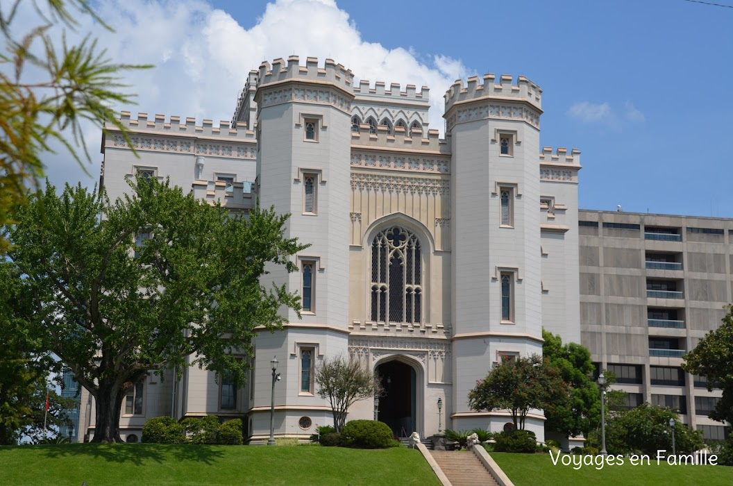Old State Capitol Baton Rouge