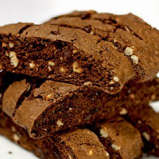 Chocolate Hazelnut Biscotti