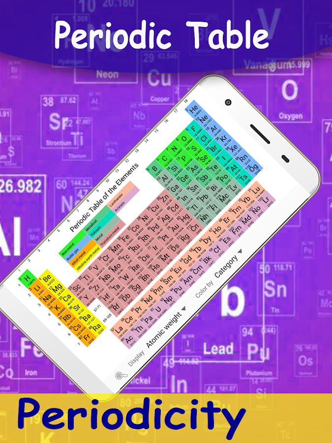 Periodicity best periodic table chemistry app android apps on periodicity best periodic table chemistry app screenshot urtaz Image collections