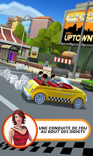 Crazy Taxi™ City Rush  captures d'écran 2