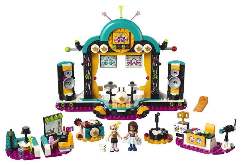 Contenido de Lego® 41368 Concurso de Talentos de Andrea