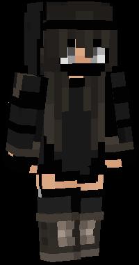 Black Girl Nova Skin