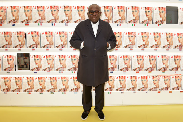 Edward Enninful Signs Limited Edition Copies Of His First Issue Of British Vogue