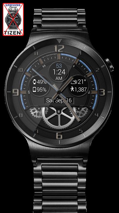 Bold Gears HD Watch Face Widget & Live Wallpaper APK